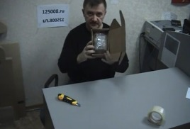 Как отправить хрупкий предмет почтой?